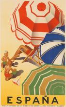 JOSÉ MORELL (1899-1949). ESPAÑA. Circa 1939. 39x24 inches, 99x62 cm. Seix y Barrel, Barcelona.