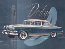 DESIGNER UNKNOWN. DODGE. 1955. 38x50 inches, 98x127 cm.