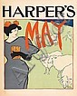 EDWARD PENFIELD (1866-1925). HARPER'S MAY. 1895. 19x13 inches, 50x34 cm.