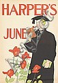EDWARD PENFIELD (1866-1925). HARPER'S JUNE. 1895. 18x12 inches, 46x32 cm.