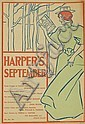 EDWARD PENFIELD (1866-1925). HARPER'S SEPTEMBER. 1895. 13x9 inches, 34x24 cm.