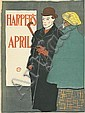 EDWARD PENFIELD (1866-1925). HARPER'S APRIL. 1896. 18x13 inches, 46x34 cm.