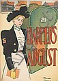 EDWARD PENFIELD (1866-1925). HARPER'S AUGUST. 1897. 18x13 inches, 47x34 cm.