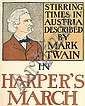 EDWARD PENFIELD (1866-1925). HARPER'S MARCH. 1898. 15x12 inches, 39x32 cm.