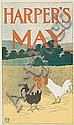 EDWARD PENFIELD (1866-1925). HARPER'S MAY. 1898. 16x9 inches, 40x21 cm.