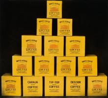 (COFFEE & TEA) An album entitled The Home of White House Coffee, by the Dwinell-Wright Company.