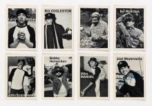 MIKE MANDEL (1950- ) Complete set of 134 Baseball Photographer Trading Cards, including 64 that are signed.