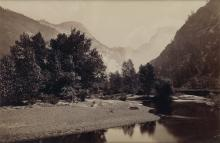 CARLETON E. WATKINS (1829-1916)/ISAIAH W. TABER (1830-1912) A selection of 9 photographs, including 5 from the Yosemite Valley.