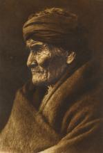 EDWARD S. CURTIS (1868-1952) Geronimo - Apache.