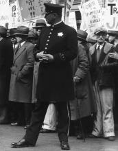 DOROTHEA LANGE (1895-1965) The General Strike, Policeman.