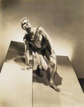 GEORGE PLATT LYNES (1907-1955) Lew Christiansen in Apollon (American Ballet).
