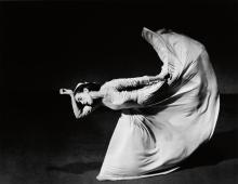 BARBARA MORGAN (1900-1992) Martha Graham--Letter to the World (Kick).