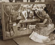 BERNARD SILBERSTEIN (1905-1999) Frida Painting