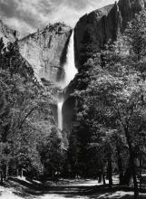 ADAMS, ANSEL (1902-1984) Yosemite Falls * El Capitan.