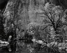 ANSEL ADAMS (1902-1984) River, Cliffs, Autumn, Yosemite Valley, California.