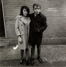 DIANE ARBUS (1923-1971)/NEIL SELKIRK (1947- ) Teenage couple on Hudson Street, N.Y.C.