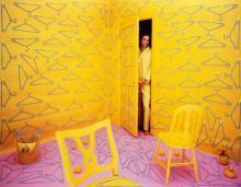 SANDY SKOGLUND (1946- ) Hangers.