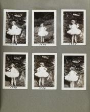(GROWING UP) An album with more than 150 photographs chronicling the life of Joan Shirley Ebbett.