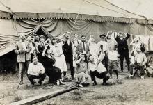 (RINGLING BROS. AND BARNUM & BAILEY) An album entitled Season 1923, New York to Frisco.