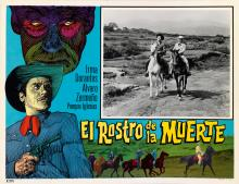 (MEXICAN CINEMA) A sensational and dramatic group of 58 Mexican lobby cards for B-movies.