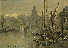 HENRY OSSAWA TANNER (1859 - 1937) Untitled (View of the Seine).