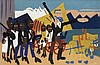 WILLIAM H. JOHNSON (1901 - 1970) On a John Brown Flight.