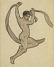DOX THRASH (1893 - 1965) Nude Dancer.