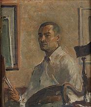 JAMES A. PORTER (1905 - 1970) Self-Portrait.