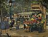 LOÏS MAILOU JONES (1905 - 1998) Marchande de Fleurs, Paris.
