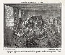 HONORÉ DAUMIER Group of 10 lithographs.