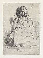JAMES A. M. WHISTLER Annie, Seated.