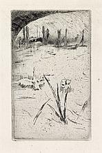 JAMES A. M. WHISTLER Sketch after Cecil Lawson's