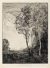 JEAN-BAPTISTE-CAMILLE COROT Souvenir d'Italie.