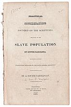 (SLAVERY AND ABOLITION.) [DALCHO, REV. FREDERICK]. Practical Considerations Founded on the Scriptures Relative to the Slave Population