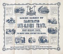 (SLAVERY AND ABOLITION.) LEEDS ANTI-SLAVERY SOCIETY. Leeds Series of Illustrated Anti-Slavery Tracts.
