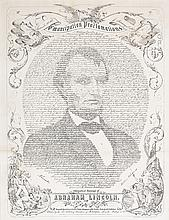 (SLAVERY AND ABOLITION.) LINCOLN, ABRAHAM. Emancipation Proclamation.