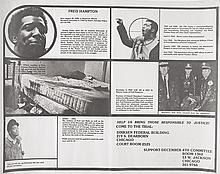 (BLACK PANTHERS.) HAMPTON, FRED. Fred Hampton . . . Help us Bring Those Responsible to Justice.
