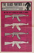 (BLACK PANTHERS.) Group of 15 issues of the Black Panther Newspaper,