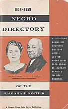 (BUSINESS DIRECTORIES.) CANNON, ESSIE W. 1958-1959 Negro Directory of the Niagara Frontier.