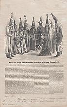 (CIVIL RIGHTS.) RECONSTRUCTION--KU KLUX KLAN. Plan of the Contemplated Murder of John Campbell