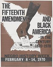 (CIVIL RIGHTS.) WOODSON, CARTER G. Association for the Study of Negro Life and History. The Fifteenth Amendment and Black America. In t