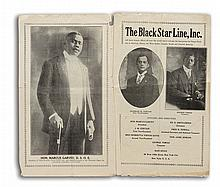 GARVEY, MARCUS. Black Star Line Steamship Corporation.