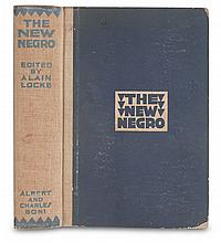 (LITERATURE AND POETRY.) LOCKE, ALAIN, EDITOR. The New Negro, an Interpretation.