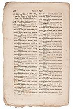 (LITERATURE AND POETRY.) WHEATLEY, PHILLIS. To Mr. and Mrs ******* on the Death of Their Infant Son, by Phillis Wheatley.