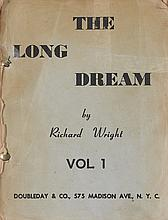 (LITERATURE AND POETRY.) WRIGHT, RICHARD. The Long Dream.