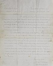 (MILITARY--CIVIL WAR.) TILGHMAN, B.C., COLONEL 3RD U.S.C.T. Autograph Letter Signed, addressed to Captain Charles F. Smith.