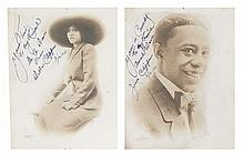 (MILITARY--WORLD WAR I.) CLIPPER, JESSE. Inscribed and signed portrait photograph of Jesse Clipper, the first African American to die i