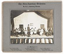 (MUSIC.) SPEARING, DR. H.A., DIRECTOR. The Afro-American Orchestra.