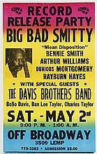 (MUSIC.) JAZZ AND BLUES. Group of over 35 posters and several press kits for jazz and blues concerts, 1953 to 1993.