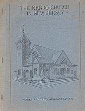 (RELIGION.) PAWLEY, JAMES A., Compiler. The Negro Church in New Jersey, Compiled by James A. Pawley and Staff.